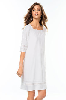 Emerge Embroidered Tunic Dress