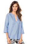 Emerge Pintuck Linen Shirt