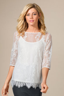 Capture Lace Top
