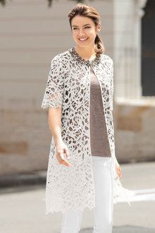 Grace Hill Lace Jacket