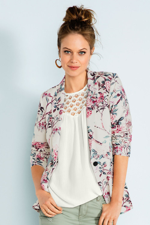 Emerge Lace Yoke Top