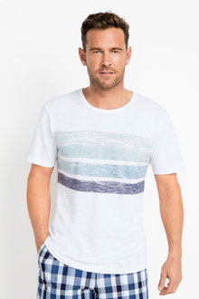 Southcape Chest Stripe Tee