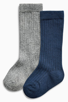 Next Grey/Navy Socks Two Pack (Younger Boys) - 162602