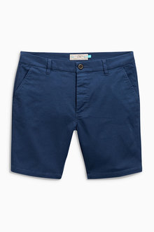 Next Slim Chino Shorts