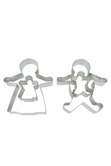 Avanti Gingerbread Family Cookie Cutter Set of 4