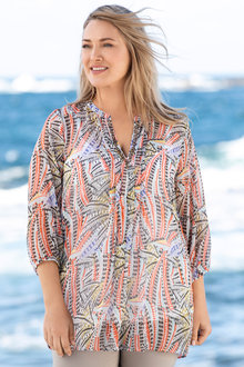Plus Size - Sara Jewel Kaftan