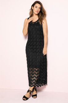 Plus Size - Sara Lace Maxi Dress