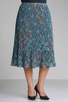 Plus Size - Sara Pleat Skirt