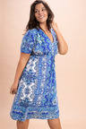 Plus Size - Sara Crossover Sundress