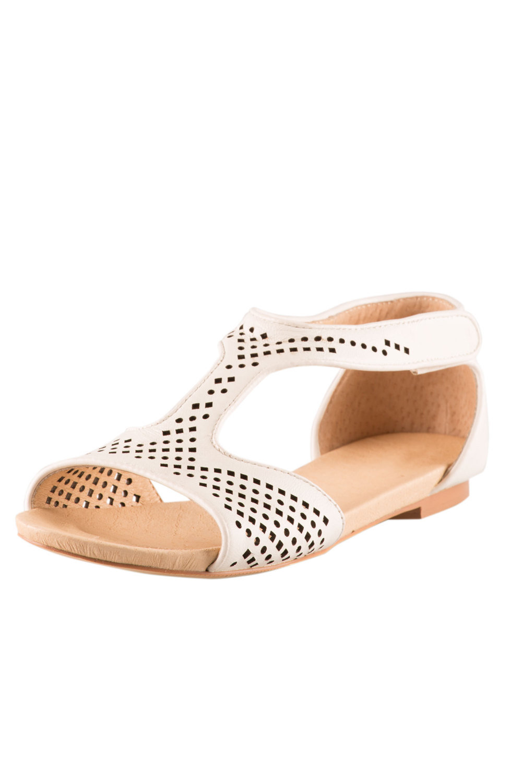 e76ff350622 Plus Size - Jessica Wide Fit Sandal Flat