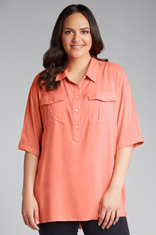 Plus Size - Sara Relaxed Shirt