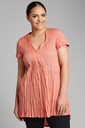 Plus Size - Sara Crinkle Tunic