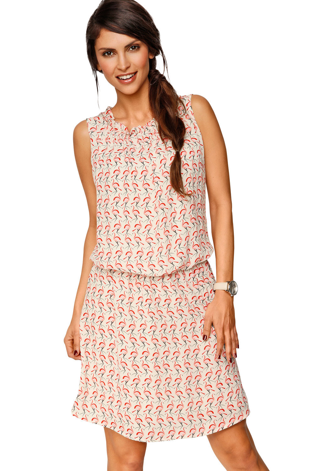 280ed917d24 Heine Flamingo Print Summer Dress Online