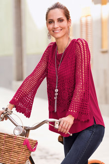 Together Crochet Sweater