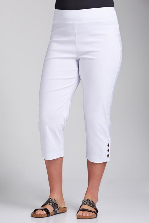 Plus Size - Sara Eyelet Pant