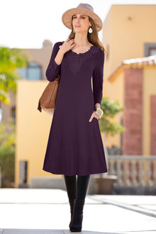 Together Embellished Knit Dress
