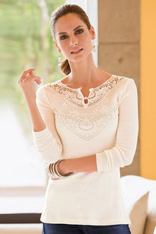 Together Lace Sweater