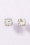 Next Sterling Silver Cubic Zirconia Stud Earrings