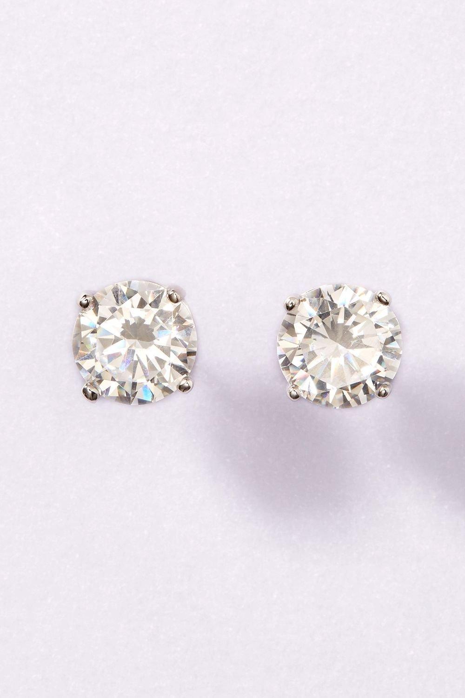 5a7612e88 Next Sterling Silver Cubic Zirconia Stud Earrings Online | Shop EziBuy