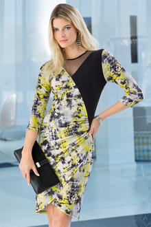 Together Printed Jersey Dress