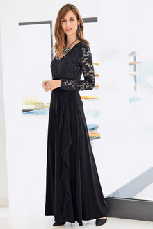 Together Maxi Lace Bodice Dress
