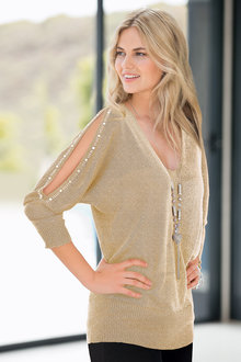 Together Open Sleeve Sweater