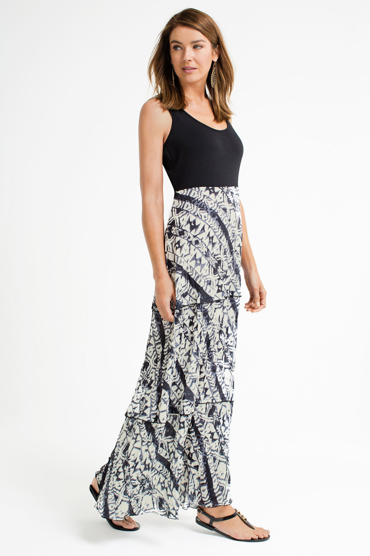 d00ee64b905 Capture Knit Bodice Maxi Dress Online