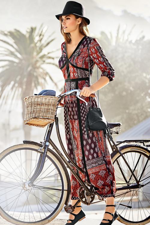 Heine Maxi Printed Boho Dress