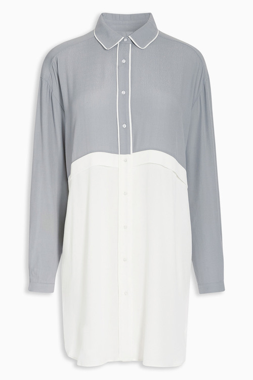 Next Tipped Shirt Dress