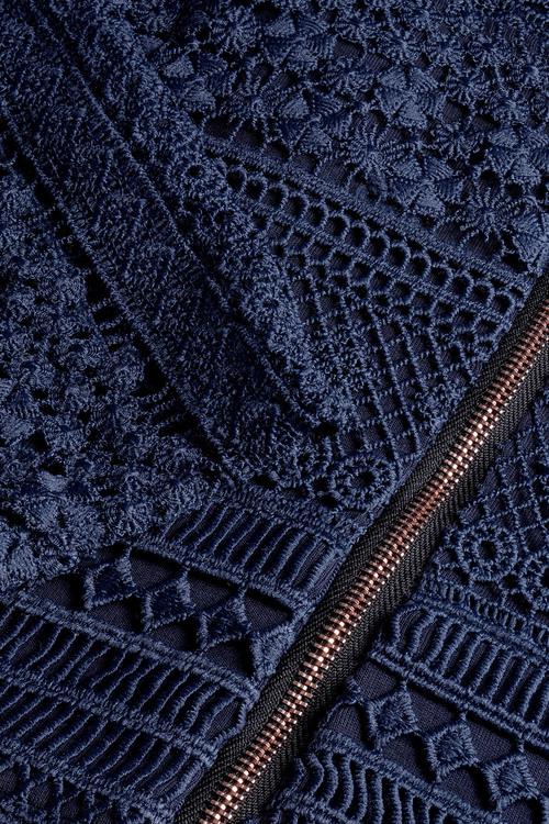 Next Navy Lace Dress