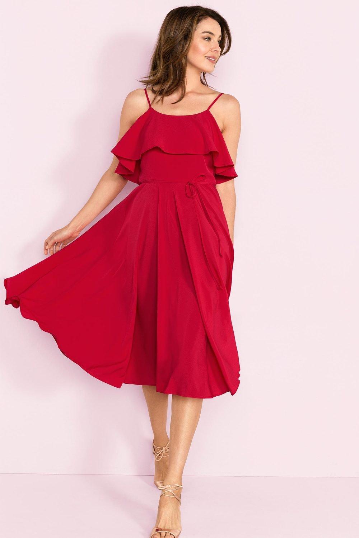 2112347f3840 Grace Hill Flutter Dress Online