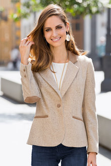 Together Tweed Blazer