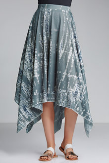 Emerge Handkerchief Hem Skirt