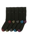 Next Grindle Heel And Toe Comfort Socks Five Packs