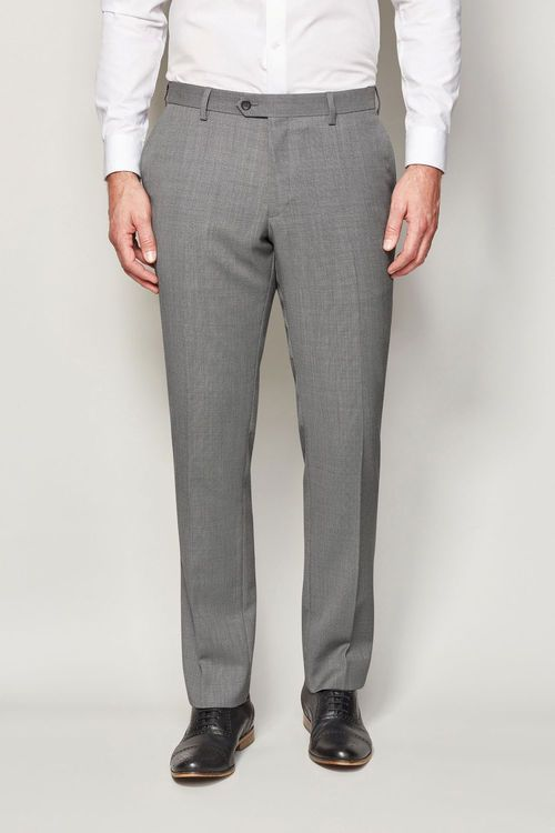 Next Machine Washable Birdseye Suit Trousers