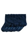 Next Navy School Socks Seven Pack (Older Boys)