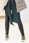 Next Leather Look Leggings - Petite