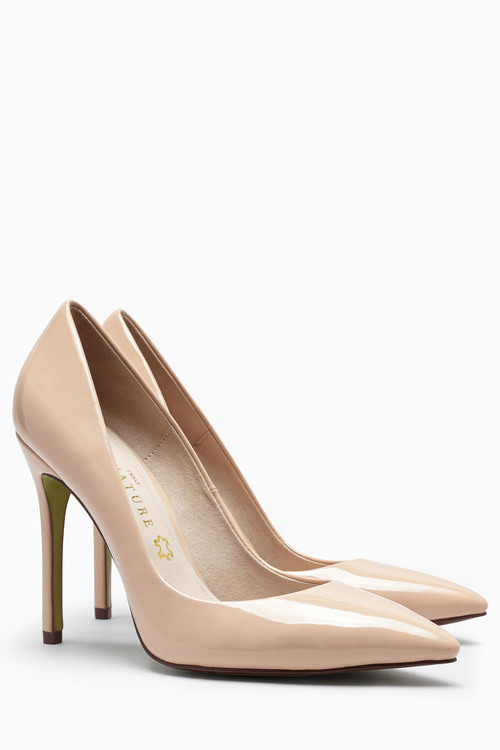 Next Signature Pointed Court Shoes