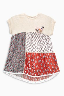 Next Ginger Mixed Print Tunic (3mths-6yrs)