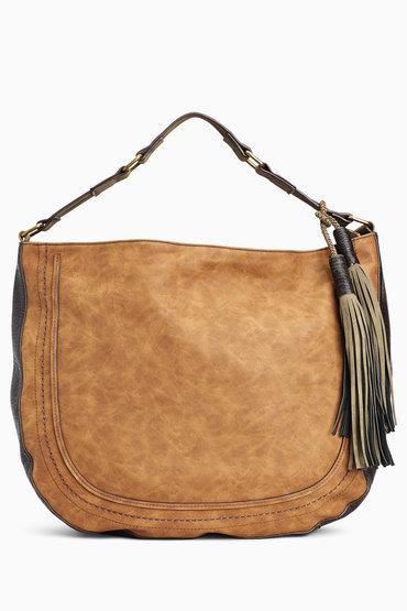 Next Tan Casual Hobo Bag Online | Shop EziBuy