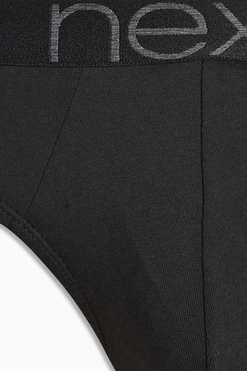 Next Black Briefs Four Pack