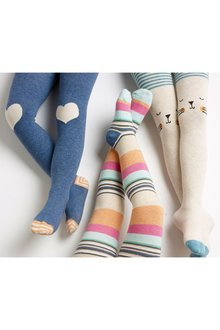 Next Cat Tights Three Pack (0mths-6yrs)