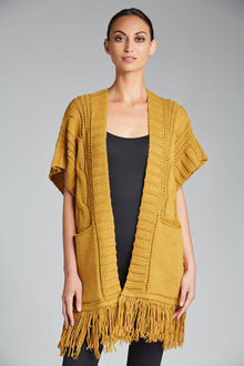 Heine Sleeveless Cardigan
