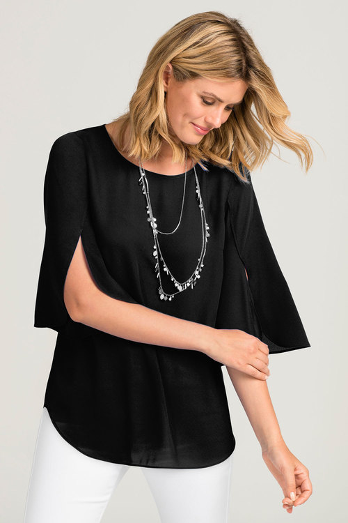 Capture Petal Sleeve Top