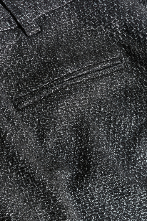 Next Charcoal Etched Slim Trousers