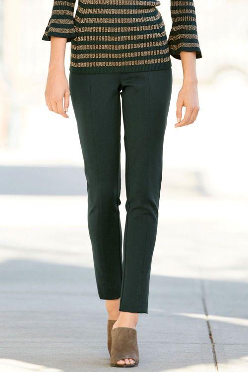 Next Ponte Skinny Trousers - Petite