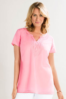 Capture Cotton Embroidered Tunic