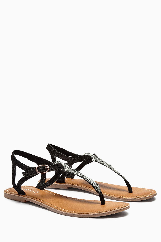 dc950c7ef14ec4 Next Leather Toe Thong Sandals Online