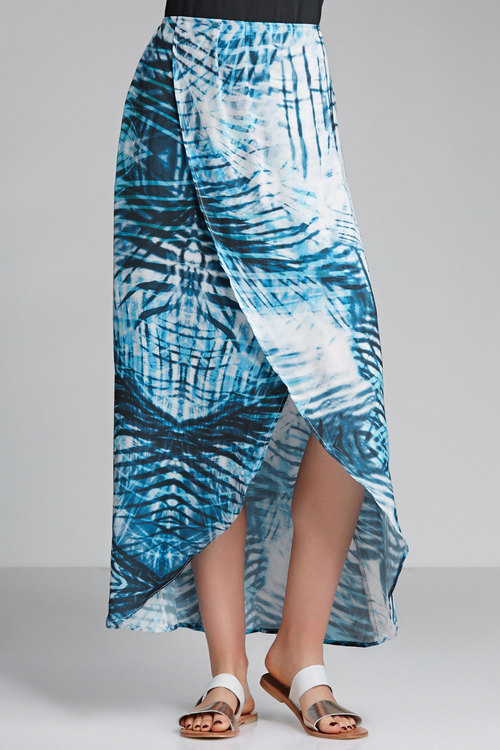 Grace Hill Print Maxi Skirt