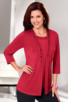 Capture European Beaded Cardi